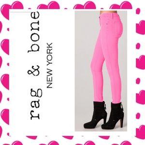 Rag and Bone Pink Leggings
